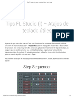 Tips FL Studio (I) - Atajos de Teclado Útiles - Jota D Beats