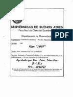 Programa Historia Economica y Social Argentina