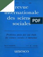 Criteres Scientifiques Edans Les Sciences Sociales Et Humaines