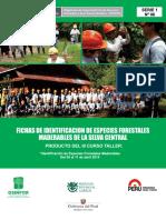 Ficha de Identificación de Especies Forestales Maderables de La Selva Central 2015