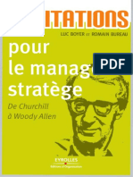 Luc Boyer, Romain Bureau 400 Citations Pour Le Manager Stratège - De Churchill à Woody Allen
