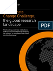 The climate change challenge