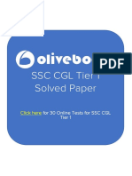 SSC CGL 2016 Solved Paper