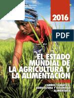 Estado Mundial Da Agricultura e Alimentacao 2016_FAO