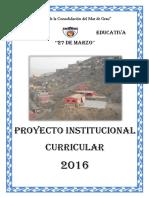 PCI 2016 27 de Marzo
