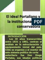 El Ideal Portaliano y La Republica Conservadora (1831 1861) (1)