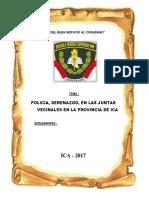 Trabajo de Junta Vecinales Pnp