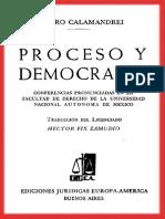 Proceso y Democracia - Piero Calamandrei