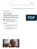 Why Japan's Liquefied Natural Gas Demand Will Increase?