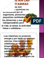Vitaminas de Origen Vegetal XD