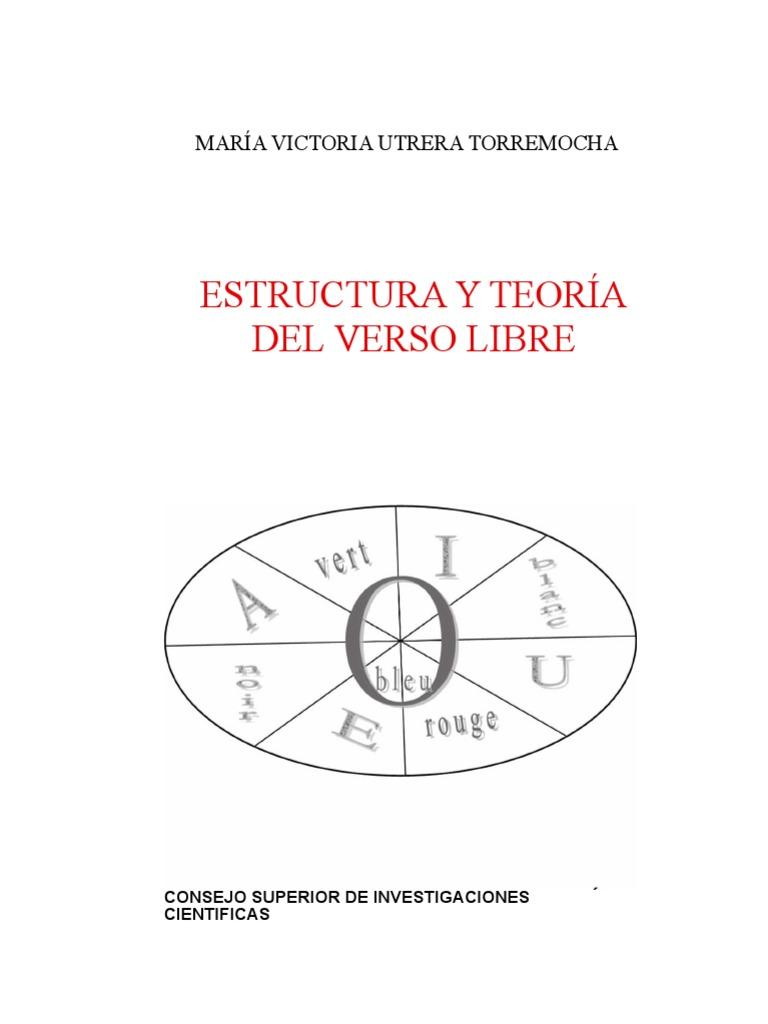 cd866928ce94 Estructura y teoría del verso libre - María Victoria Utreta.docx