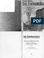Sol Eucarístico e Trevas Protestantes - Júlio Maria de Lombaerde