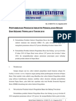 31. Industri Besar Dan Sedang Triwulan II 2010