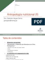 11 Onceava Clase Antropologia Nutricional(II) 12oct2016