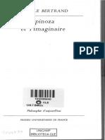 Spinoza Et l'Imaginaire