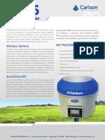 Carlson BRx6 GPS Brochure