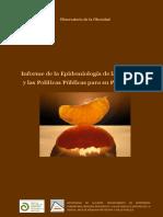 Informe de Epidemiologia y Politica de Obesidad Opps