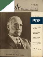 Etude Volume 71 by Theodore Presser CompanyOctober1953
