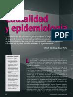 Causalidad & Epidemiología - Porta Miquel & Morabia Alfredo 2008