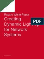 Raytec White Paper - Creating Dynamic Lighting for Network Systems