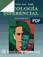 Pueyo, Manual de Psicologia Diferencial