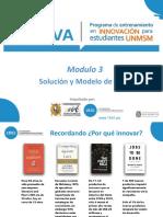 Modulo 3 Solucion y Modelo de Negocio