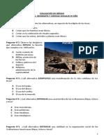 Evaluación de Los Incas, Repaso.