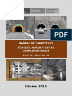 MANUAL Túneles, Muros y Obras Complementarias