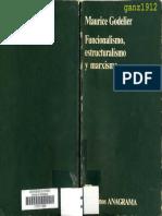 GODELIER, MAURICE - Funcionalismo, Estructuralismo y Marxismo [Por Ganz1912]