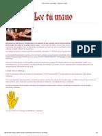 Quiromancia y Quirología __ Videncia y Magia