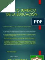 MARCO JURIDICO DE LA EDUCACIÓN. MUNDO.pptx