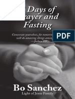 7days Prayer and Fasting