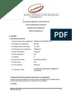 Derecho Informatico -Silabo