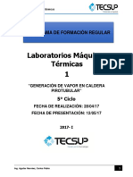 Informe 1 Maquinas Termicas