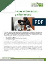Diferencias Entre Acoso y Ciber Acoso