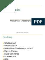01 Linux Basics