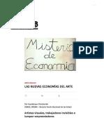 Las Nuevas Economías Del Arte _ Revista Bordes