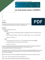 Verifying a VMware Tools Build Version (1003947) _ VMware KB