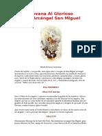 Novena San Miguel