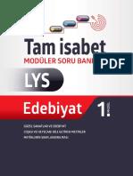LYS Edebiyat Tam İsabet Soru Bankası