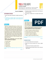 Ygs Felsefe PDF