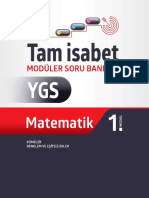 YGS Matematik Tam İsabet Soru Bankası