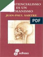 Sartre, J-P., El Existencialismo Es Un Humanismo