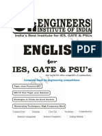 English Sample Book PDF for Ies Ssc Psu's and State Jobs Exam 1