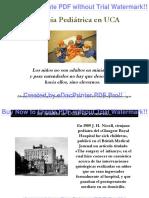 Anestesia Pediátrica en UCA_2015