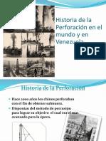 Historia de la perforacion