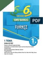 6. Sınıf Türkçe Tam İsabet Soru Bankası