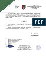 Izvršenje Budžeta Za 2015 - Izvještaj