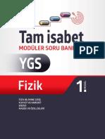 YGS Fizik Tam İsabet Soru Bankası.pdf