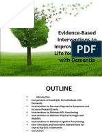 Evidence-Based Interventions to Improve Quality of Life For